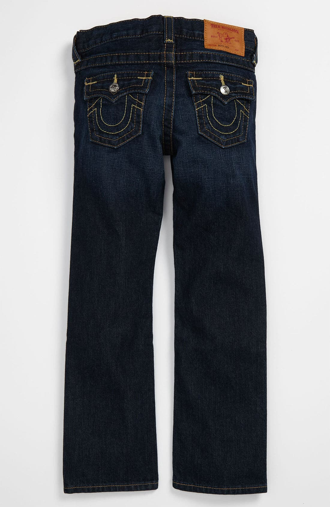 Alternate Image 1 Selected - True Religion Brand Jeans 'Jack' Straight Leg Jeans (Little Boys)
