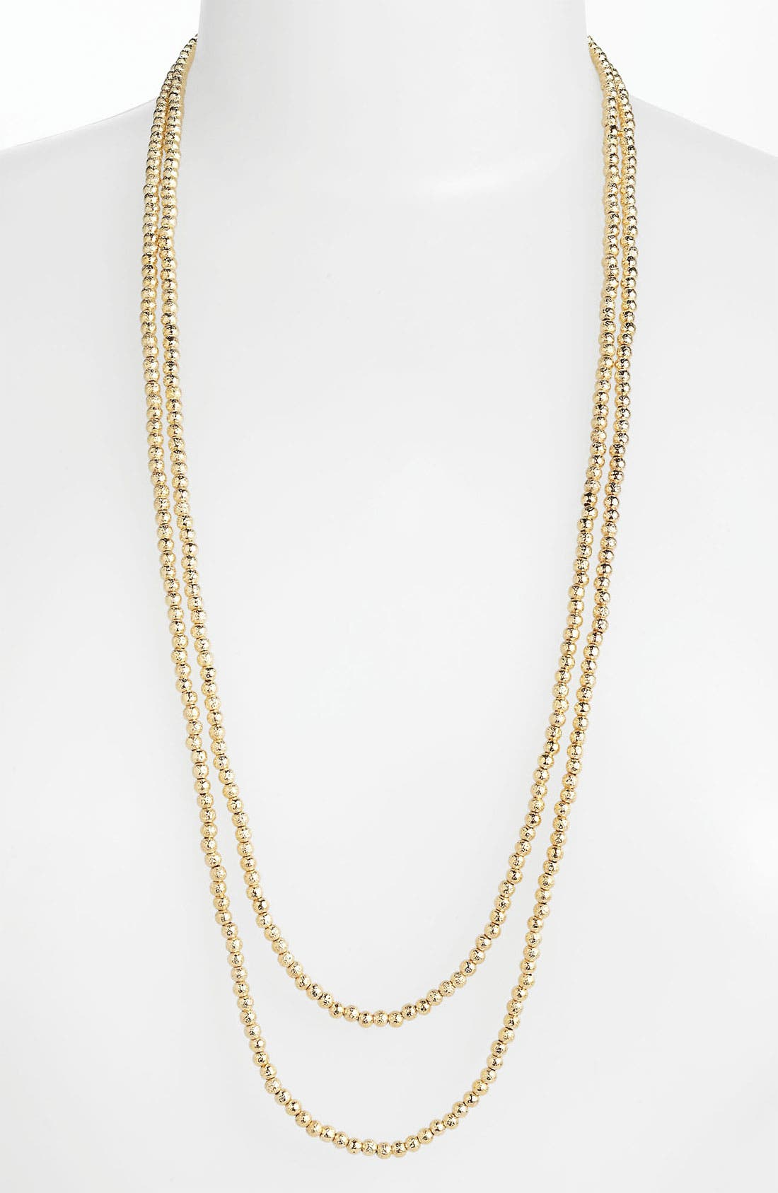 Alternate Image 2  - Nordstrom 'Sand Dollar' Extra Long Bead Necklace