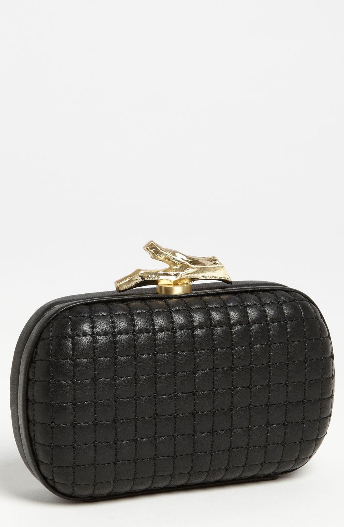 Alternate Image 1 Selected - Diane von Furstenberg 'Lytton' Quilted Leather Clutch