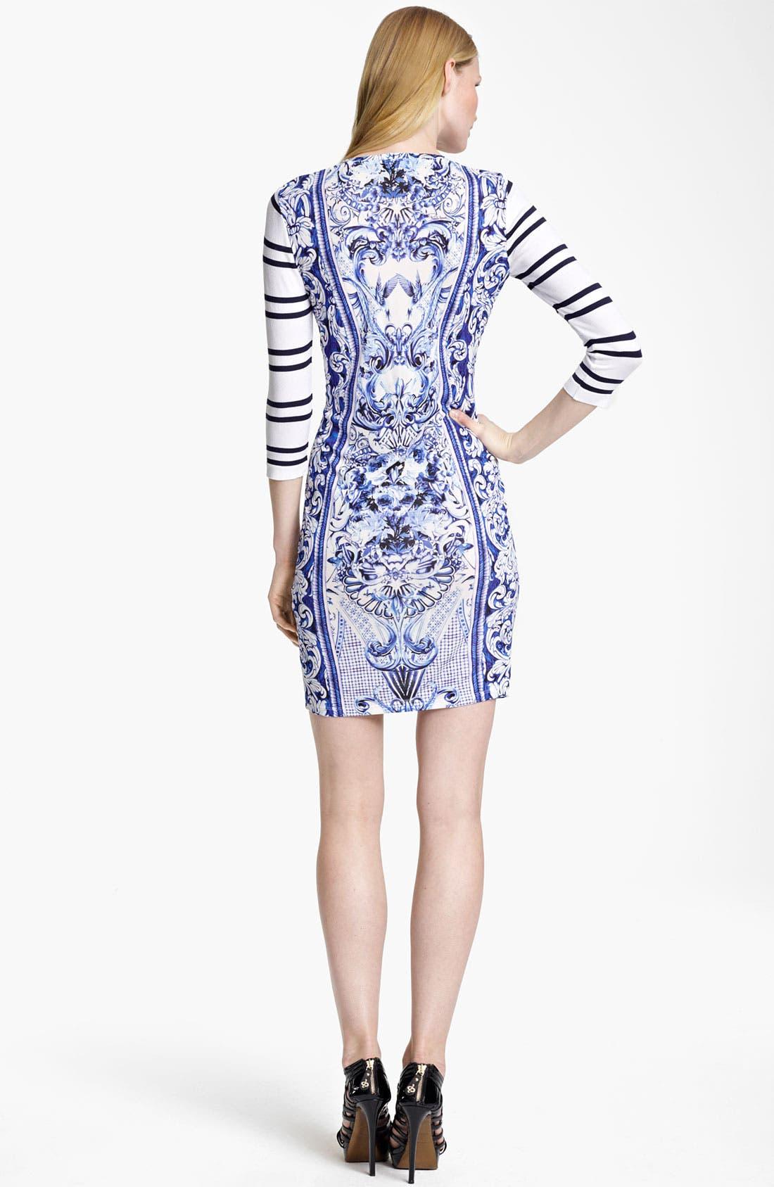 Alternate Image 2  - Roberto Cavalli Mix Print Jersey Dress