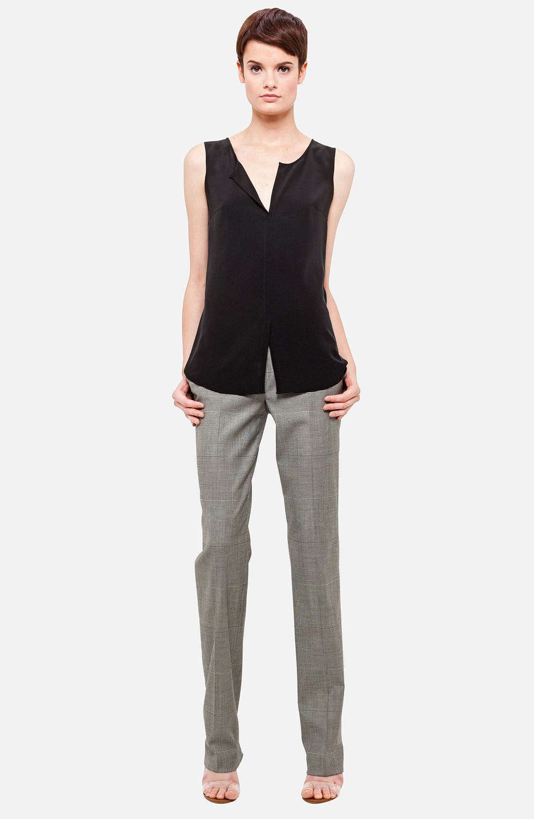 Alternate Image 1 Selected - Akris punto Sleeveless Silk Blouse