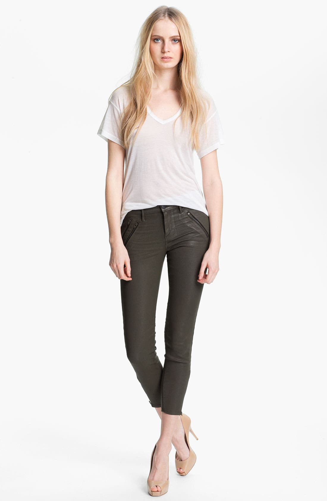 Alternate Image 3  - Habitual 'Colette' Coated Skinny Stretch Jeans