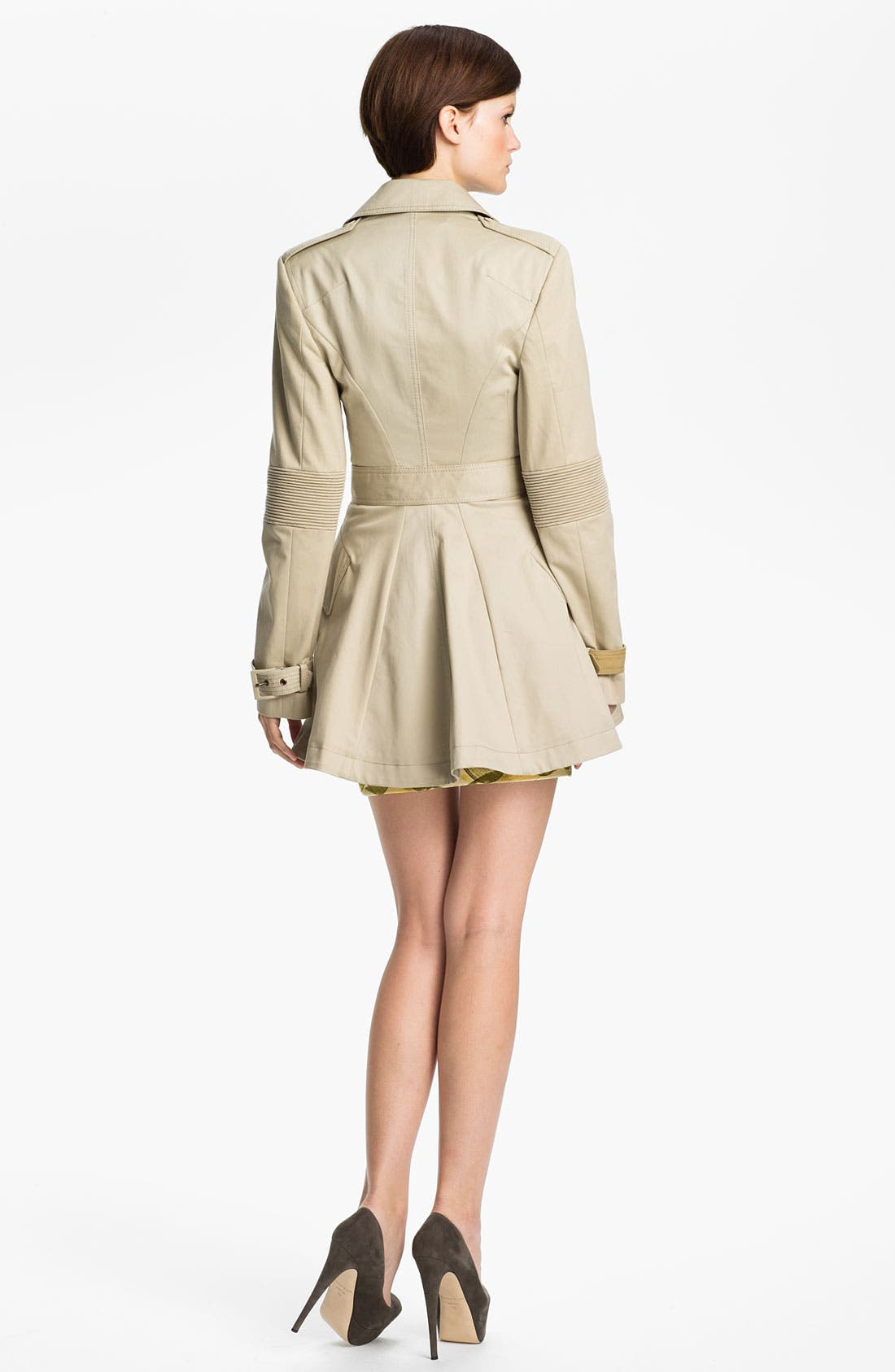 Alternate Image 2  - McQ by Alexander McQueen Belted Trench Coat
