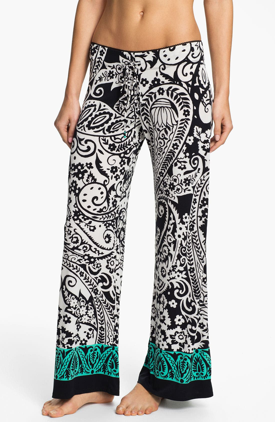 Alternate Image 1 Selected - In Bloom by Jonquil Paisley Border Pants