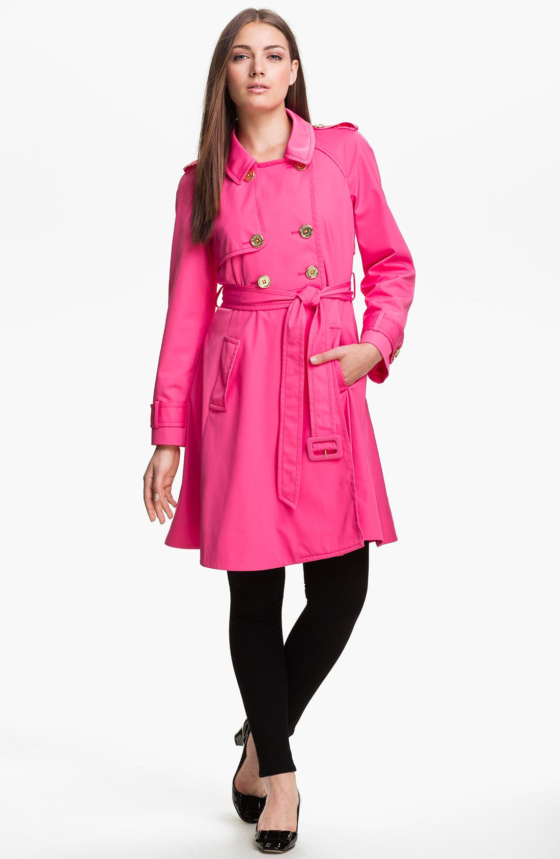 Main Image - kate spade new york 'madeline' trench coat