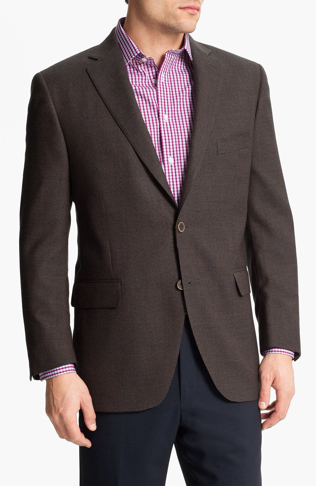 Alternate Image 1 Selected - Peter Millar Houndstooth Sportcoat