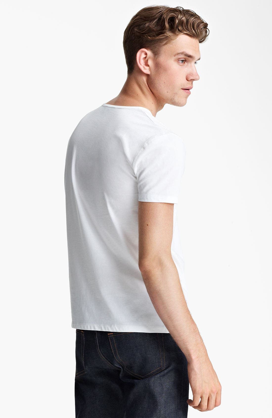 Alternate Image 2  - A.P.C. Henley T-Shirt