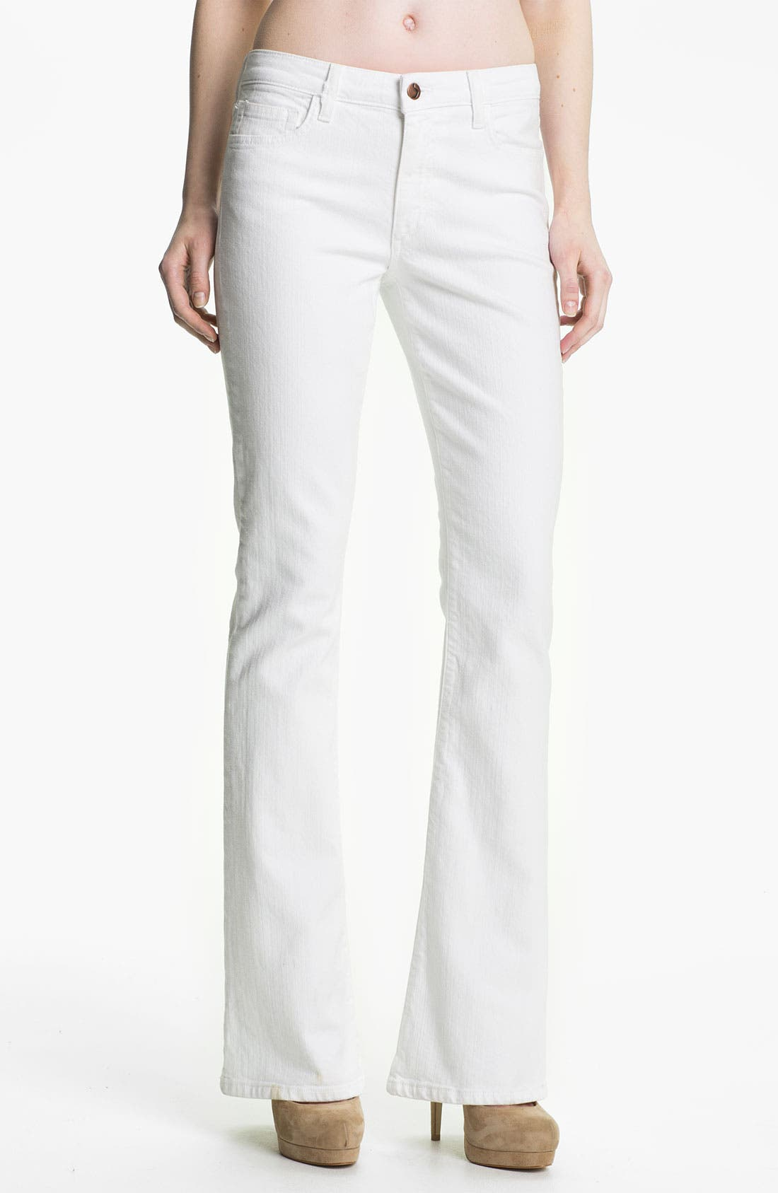 Alternate Image 1 Selected - Joe's 'Visionaire' Stretch Denim Bootcut Jeans (Bonnie)