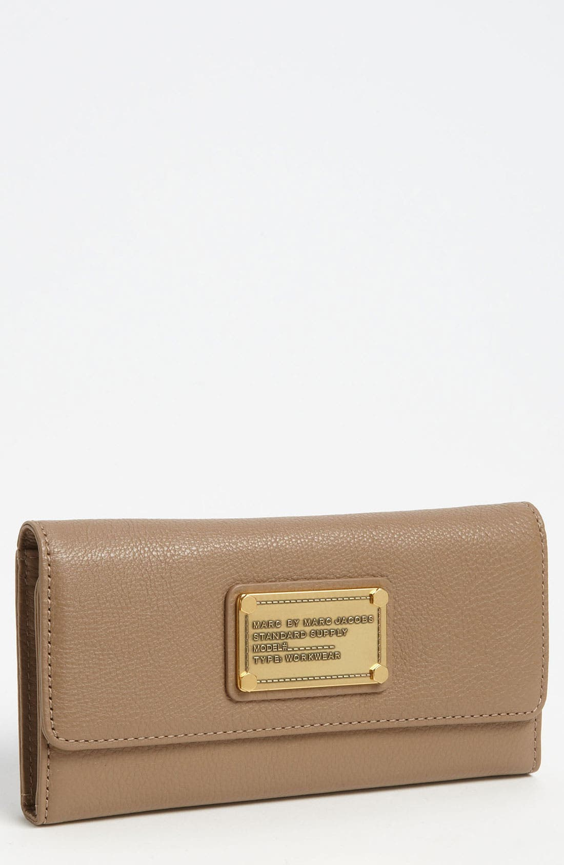 Alternate Image 1 Selected - MARC BY MARC JACOBS 'Classic Q - Long' Trifold Wallet