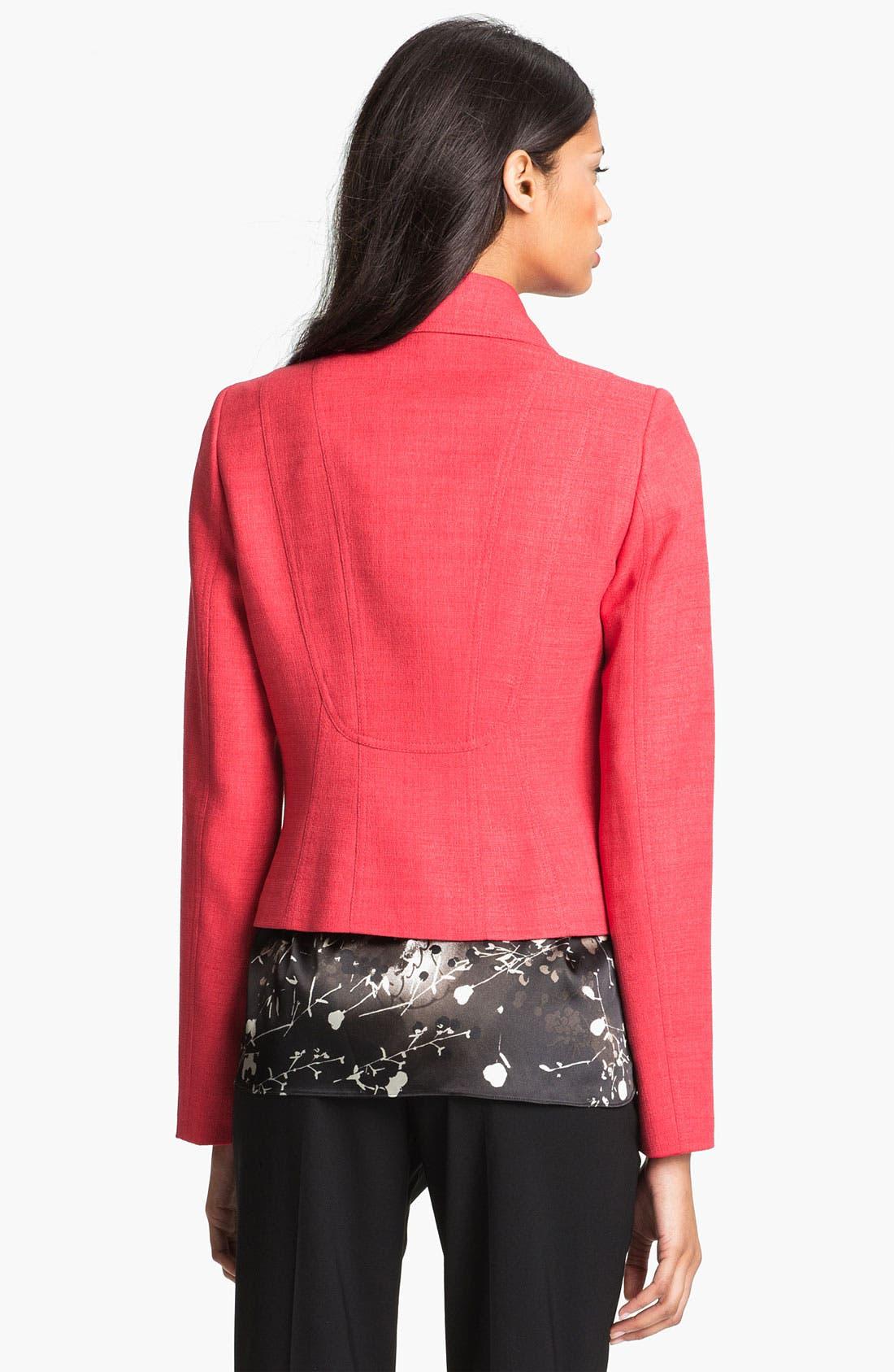 Alternate Image 2  - T Tahari 'Vidala' Jacket (Petite)