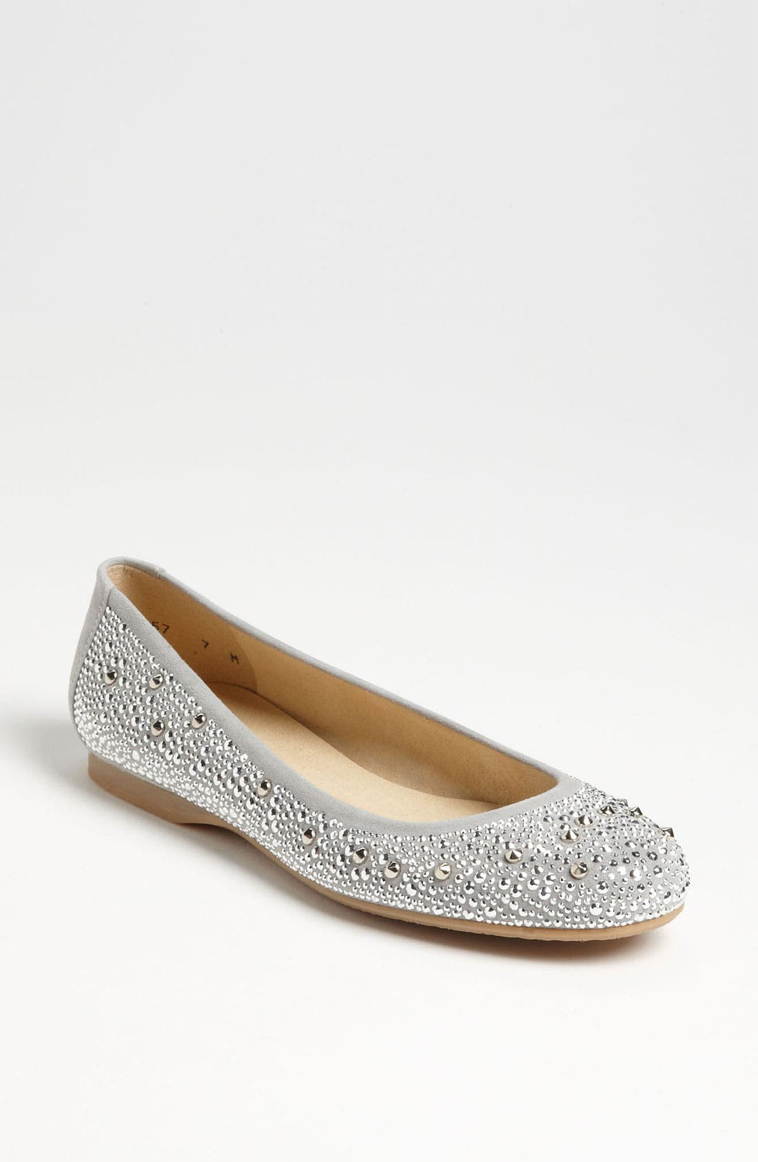 Alternate Image 1 Selected - Stuart Weitzman 'Nubeads' Flat