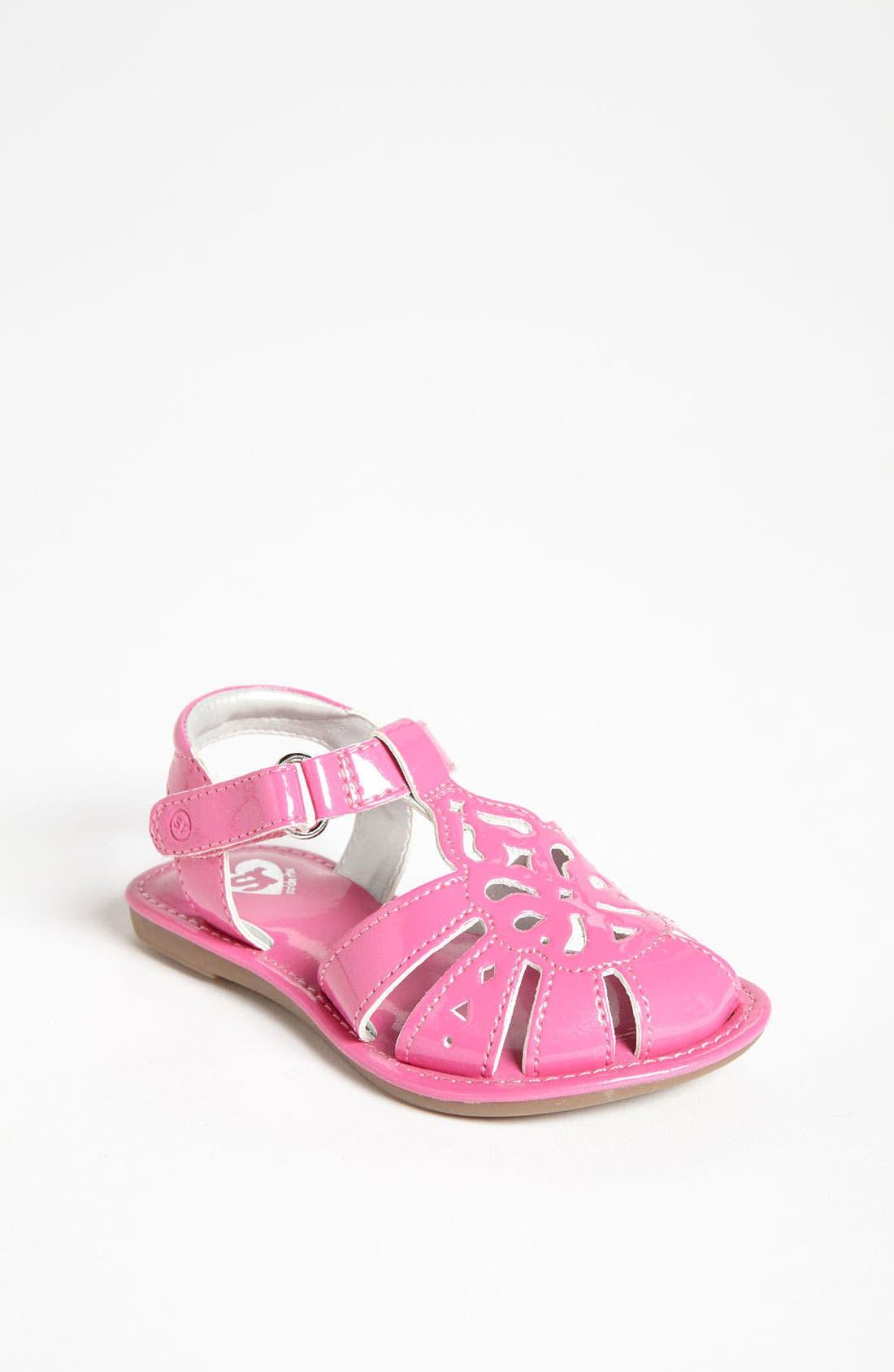 Main Image - Stride Rite 'Baby Tessa' Sandal (Baby, Walker & Toddler)