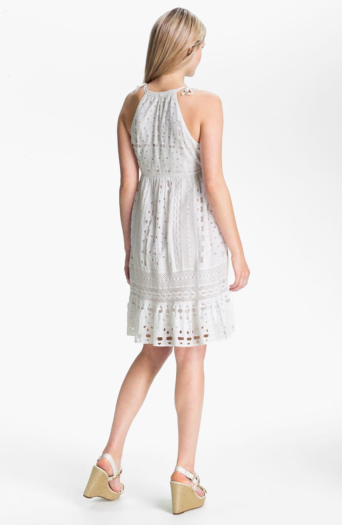 Alternate Image 2  - MICHAEL Michael Kors Eyelet Dress