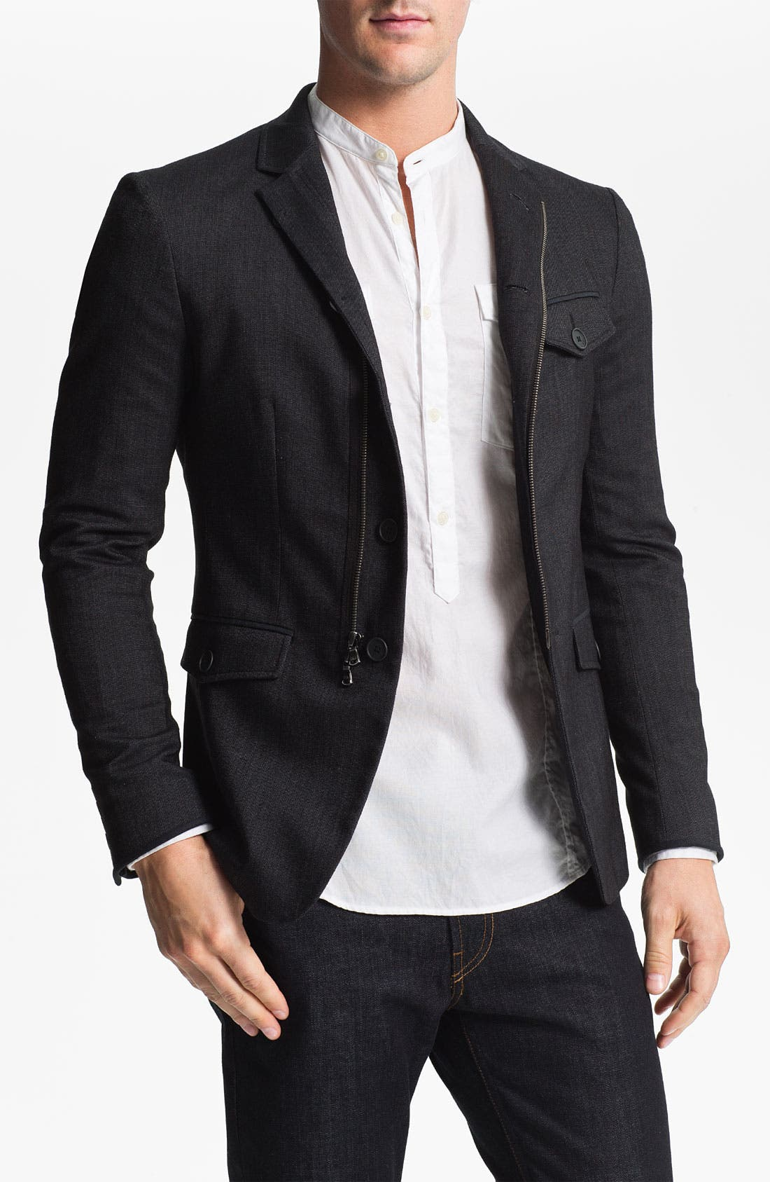 Main Image - John Varvatos Star USA Blazer Style Jacket
