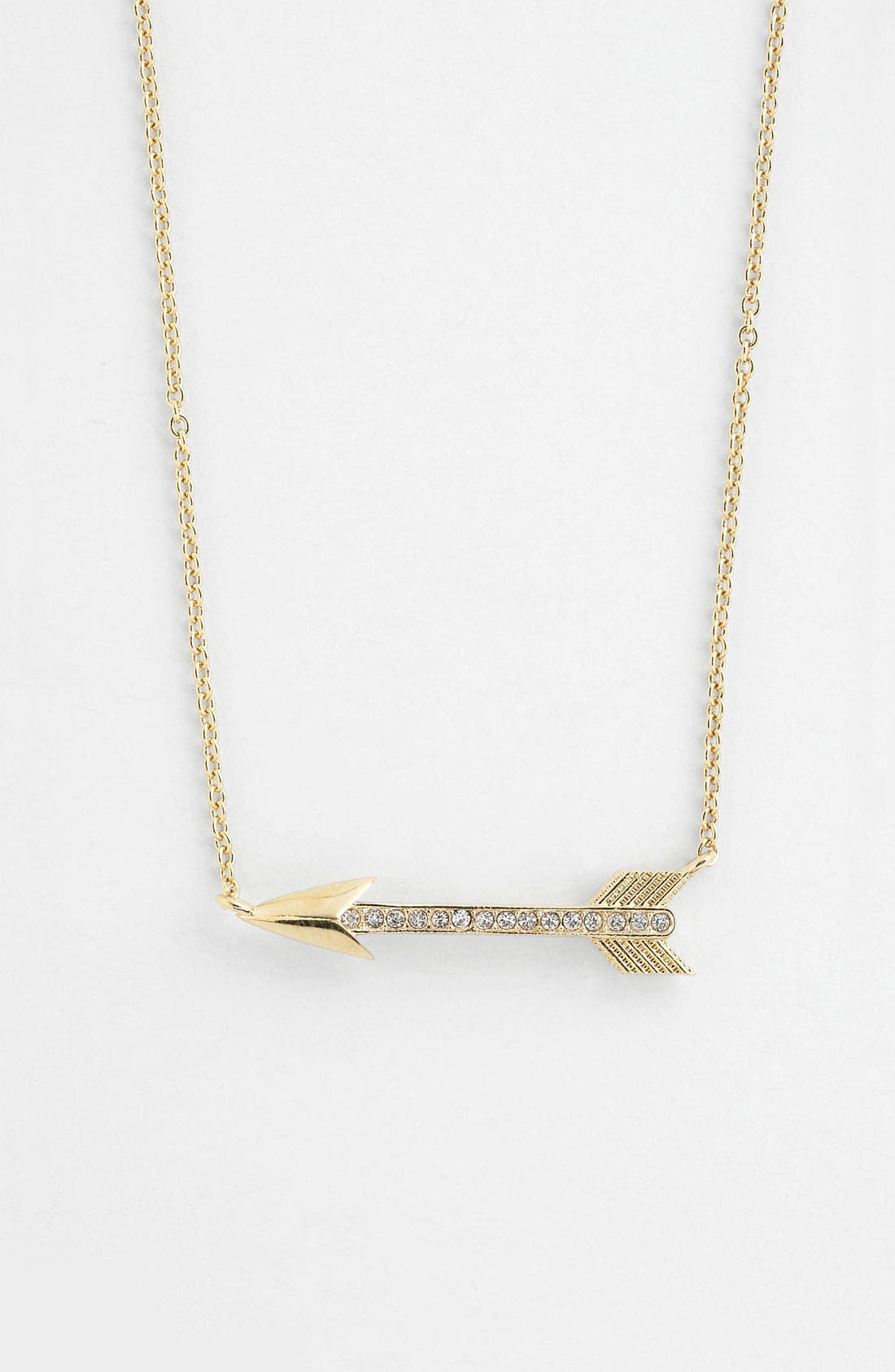 Alternate Image 1 Selected - Nadri Boxed Arrow Pendant Necklace (Nordstrom Exclusive)