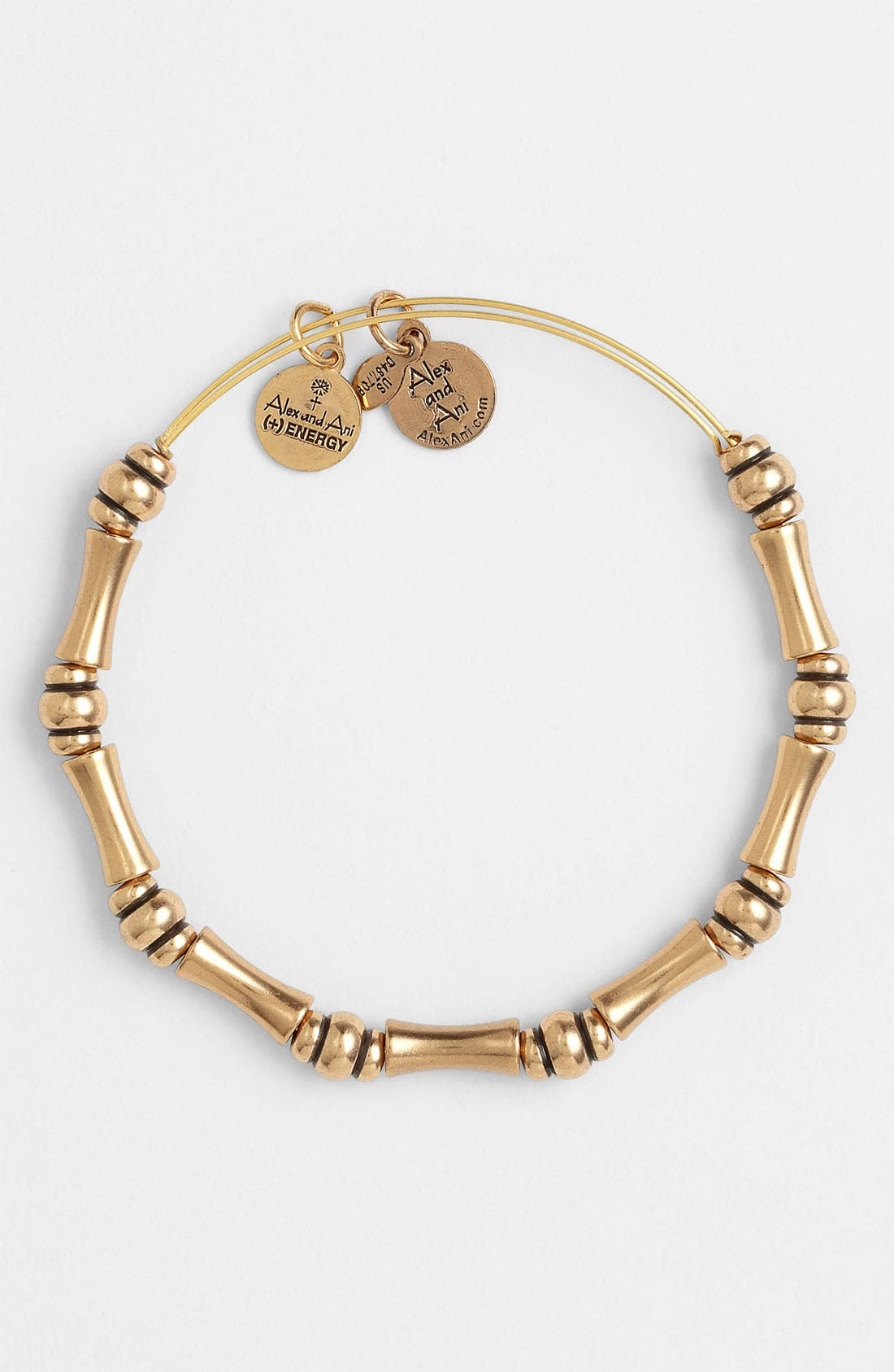 Alternate Image 2  - Alex and Ani 'Bamboo Motif' Expandable Wire Bracelet