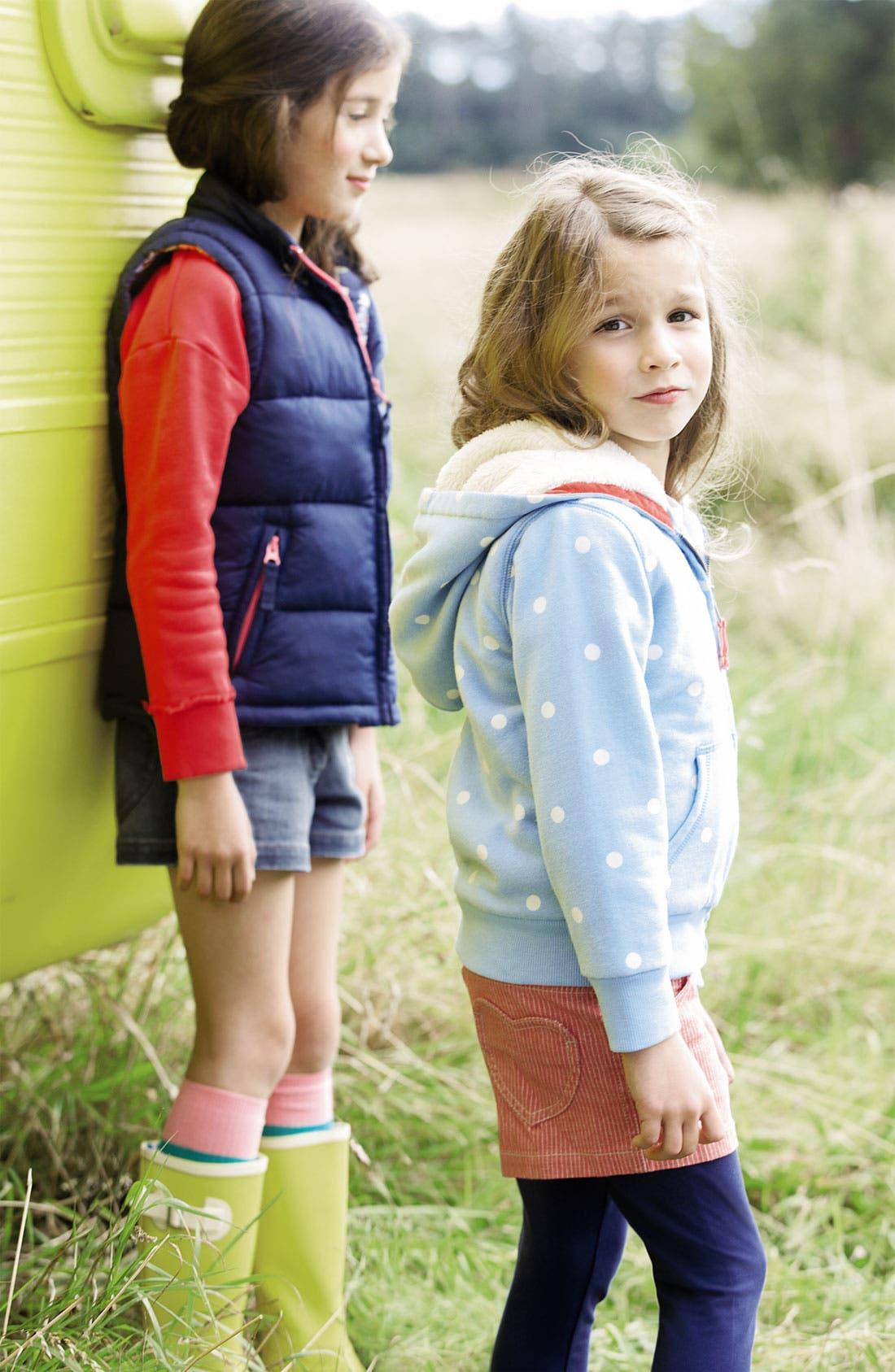 Alternate Image 2  - Mini Boden 'Shaggy' Hoodie (Toddler, Little Girls & Big Girls)