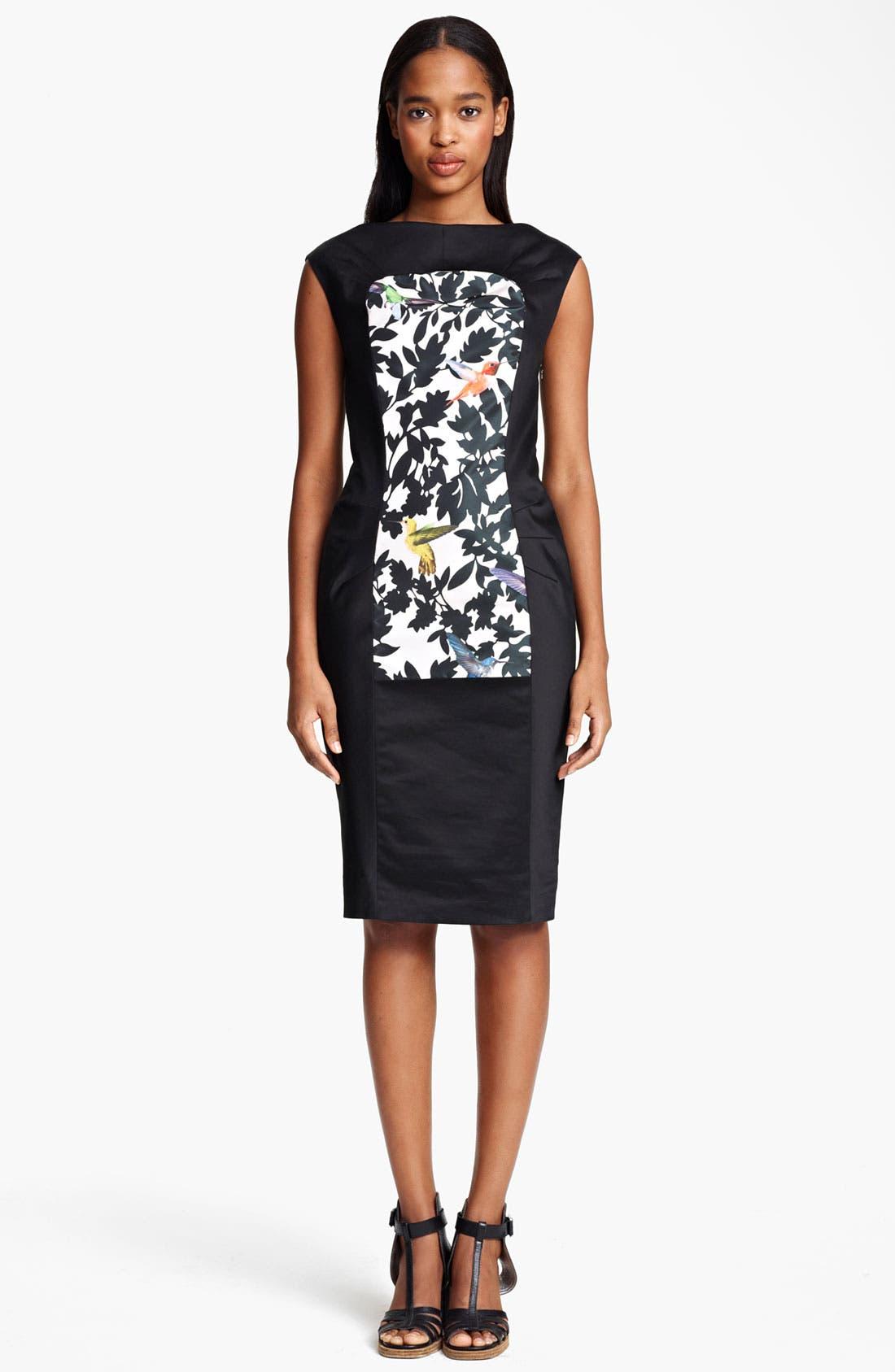 Main Image - Thakoon Bird Print Sheath Dress