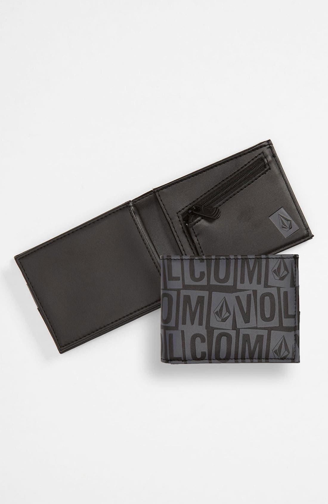 Alternate Image 1 Selected - Volcom 'Bolder' Bifold Wallet (Big Boys)