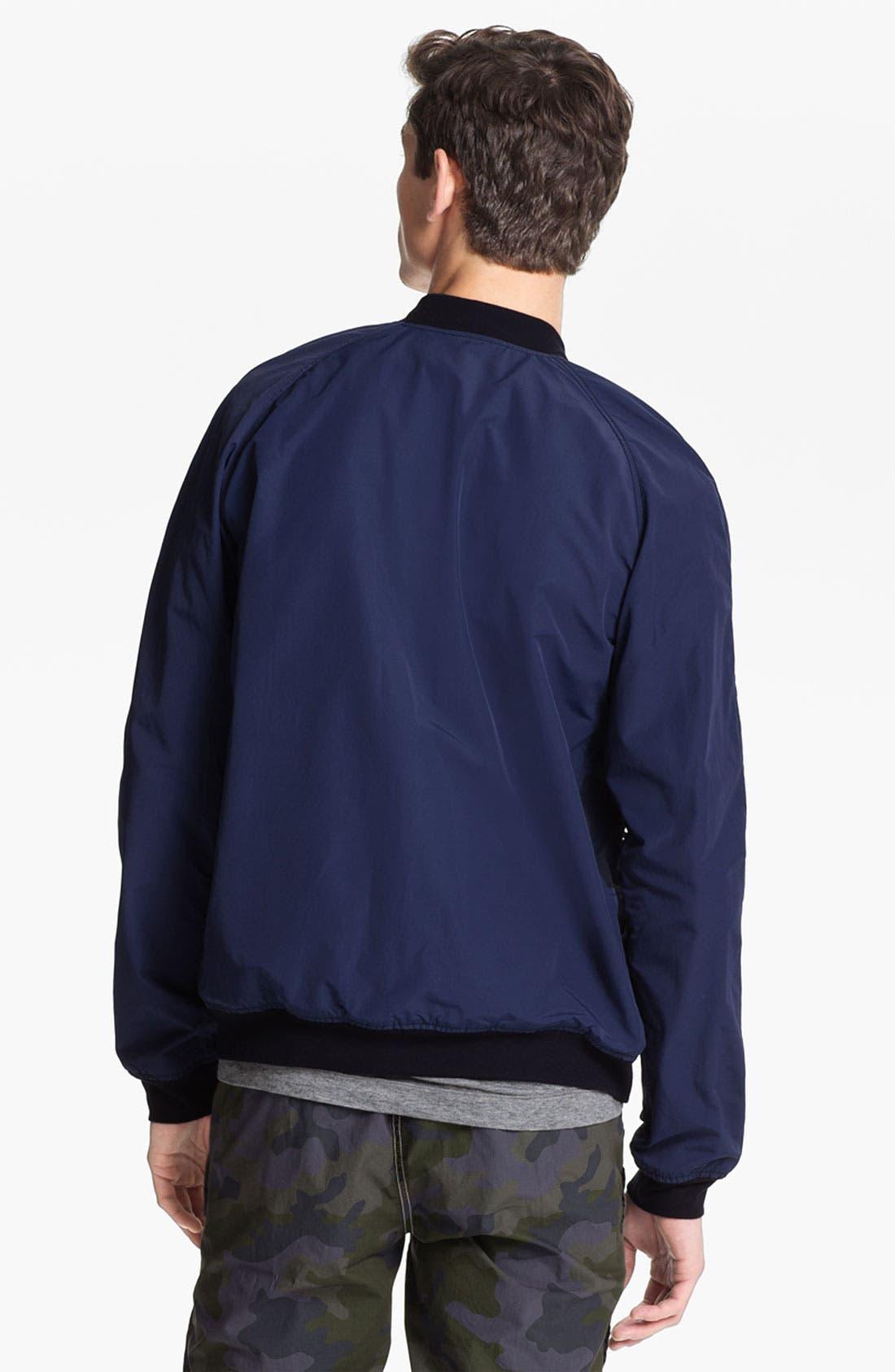 Alternate Image 2  - U Clothing 'Kai' Raglan Bomber Jacket