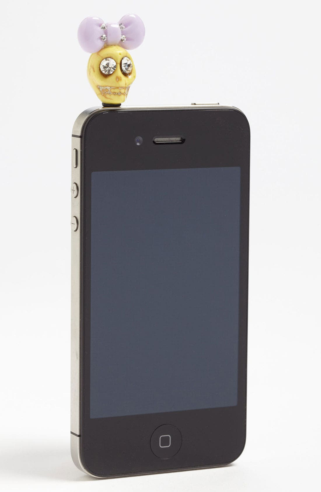 Alternate Image 1 Selected - Cara 'Skull with Bow' Smartphone Charm