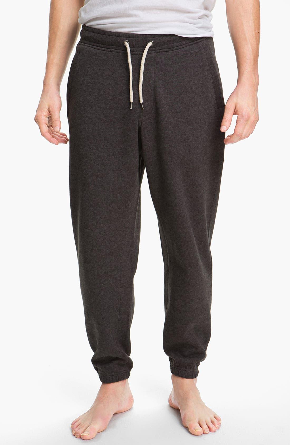 Alternate Image 1 Selected - Topman Jersey Sweatpants