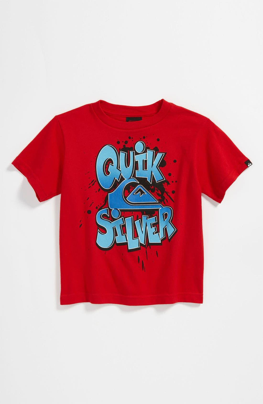 Main Image - Quiksilver 'Comic Quik' T-Shirt (Toddler)