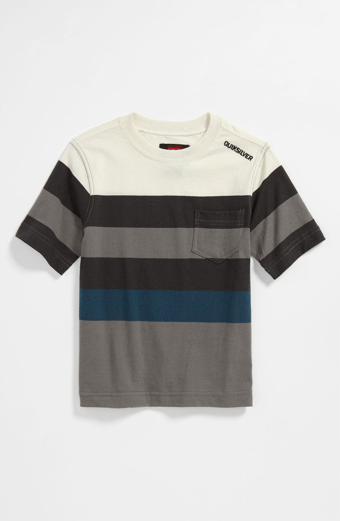 Alternate Image 1 Selected - Quiksilver 'Mobley' Stripe T-Shirt (Toddler)