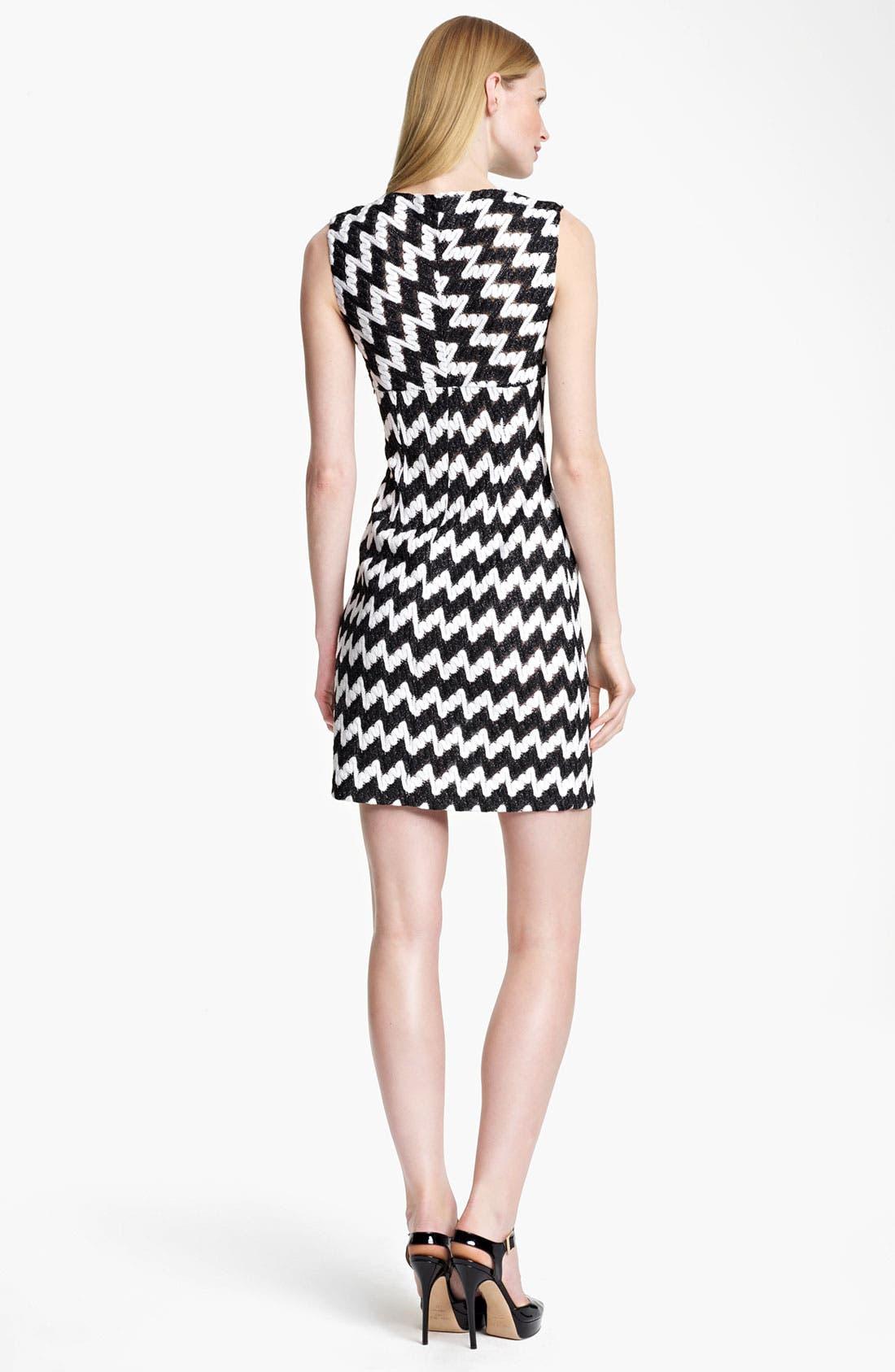 Alternate Image 2  - Missoni Bicolor Zigzag Knit Dress
