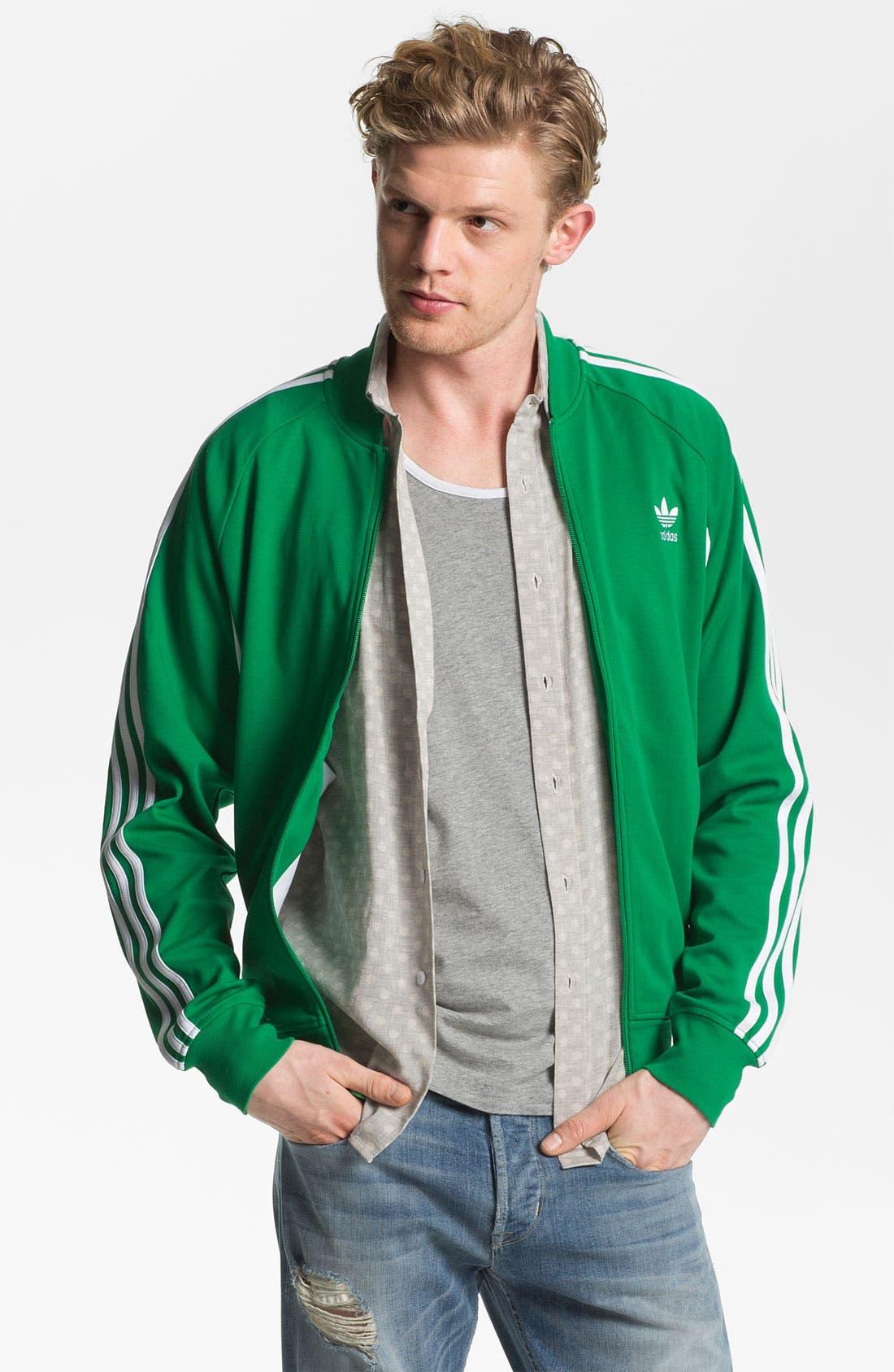 Alternate Image 1 Selected - adidas 'Court Superstar' Jacket