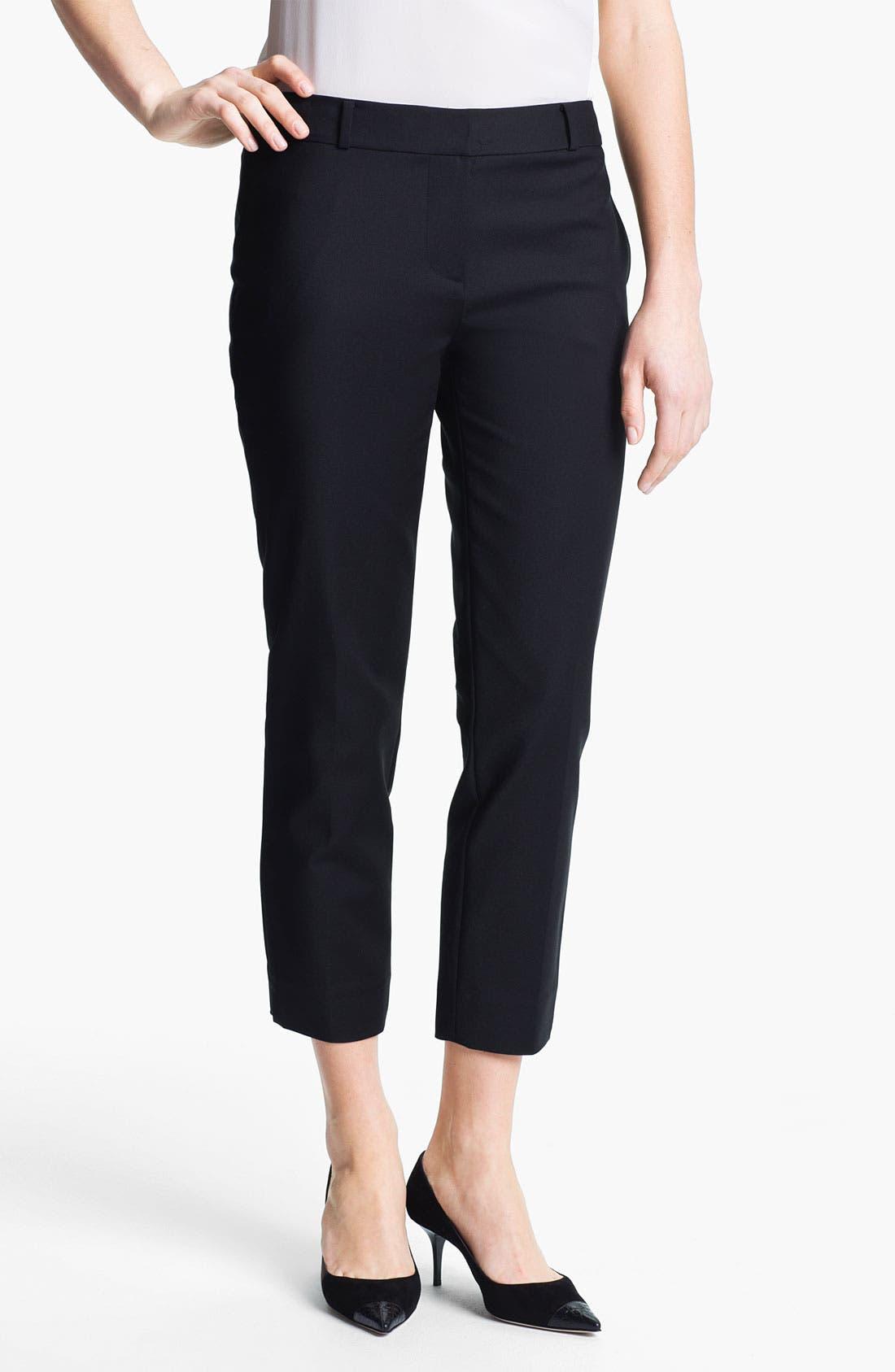 Alternate Image 1 Selected - kate spade new york 'davis' capri pants