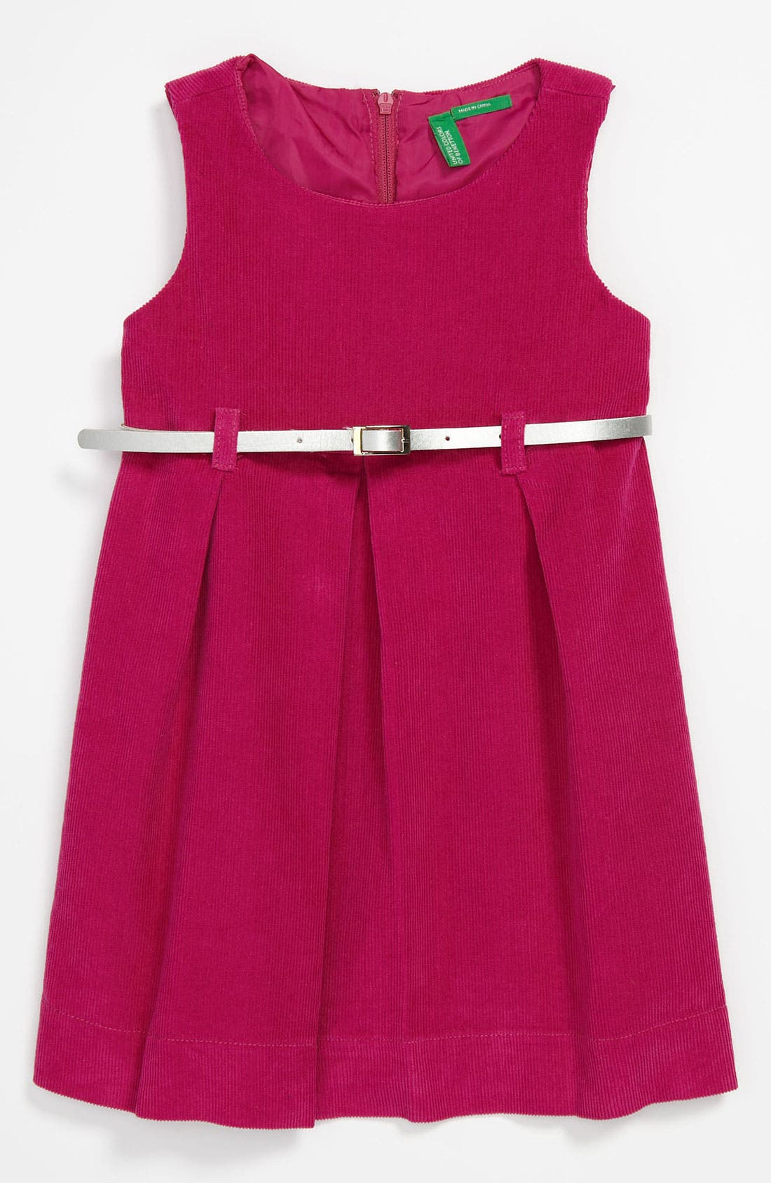 Alternate Image 1 Selected - United Colors of Benetton Corduroy Dress (Toddler)