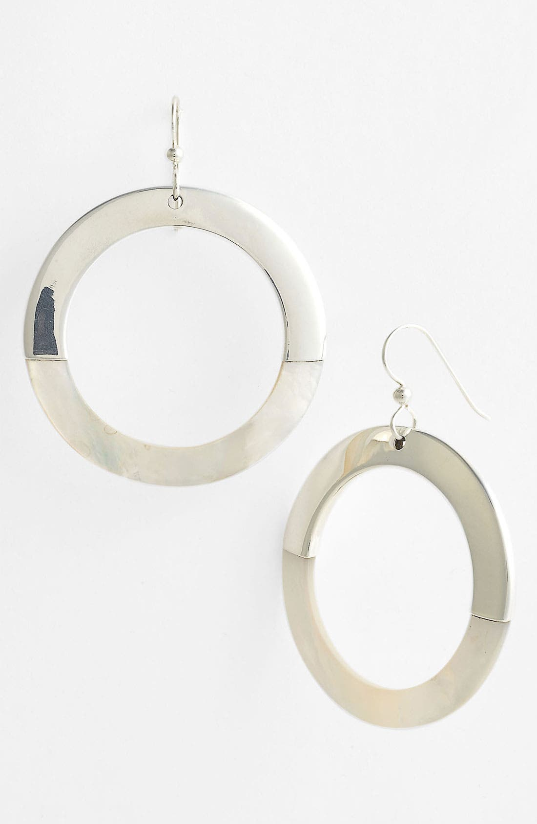 Main Image - Simon Sebbag 'Bora Bora' Open Circle Shell Earrings