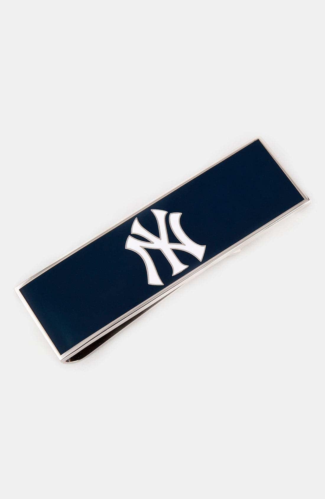 Alternate Image 1 Selected - Cufflinks, Inc. 'New York Yankees' Money Clip