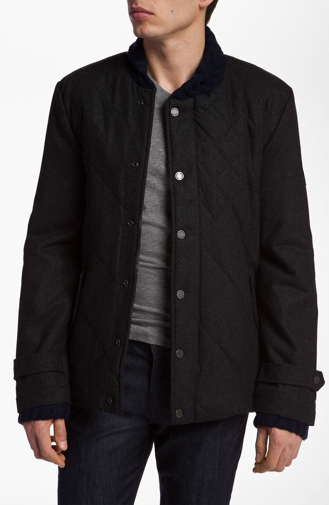 Alternate Image 1 Selected - Insight 'Silent Menace' Quilted Jacket