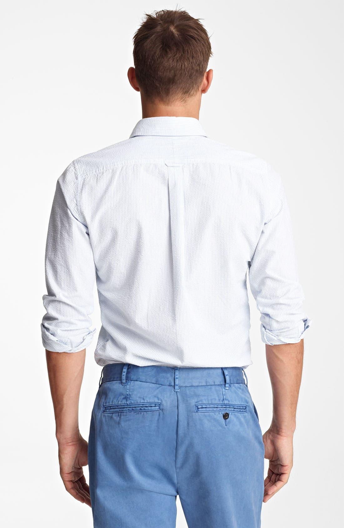 Alternate Image 2  - Jack Spade 'Trombo' Seersucker Stripe Shirt