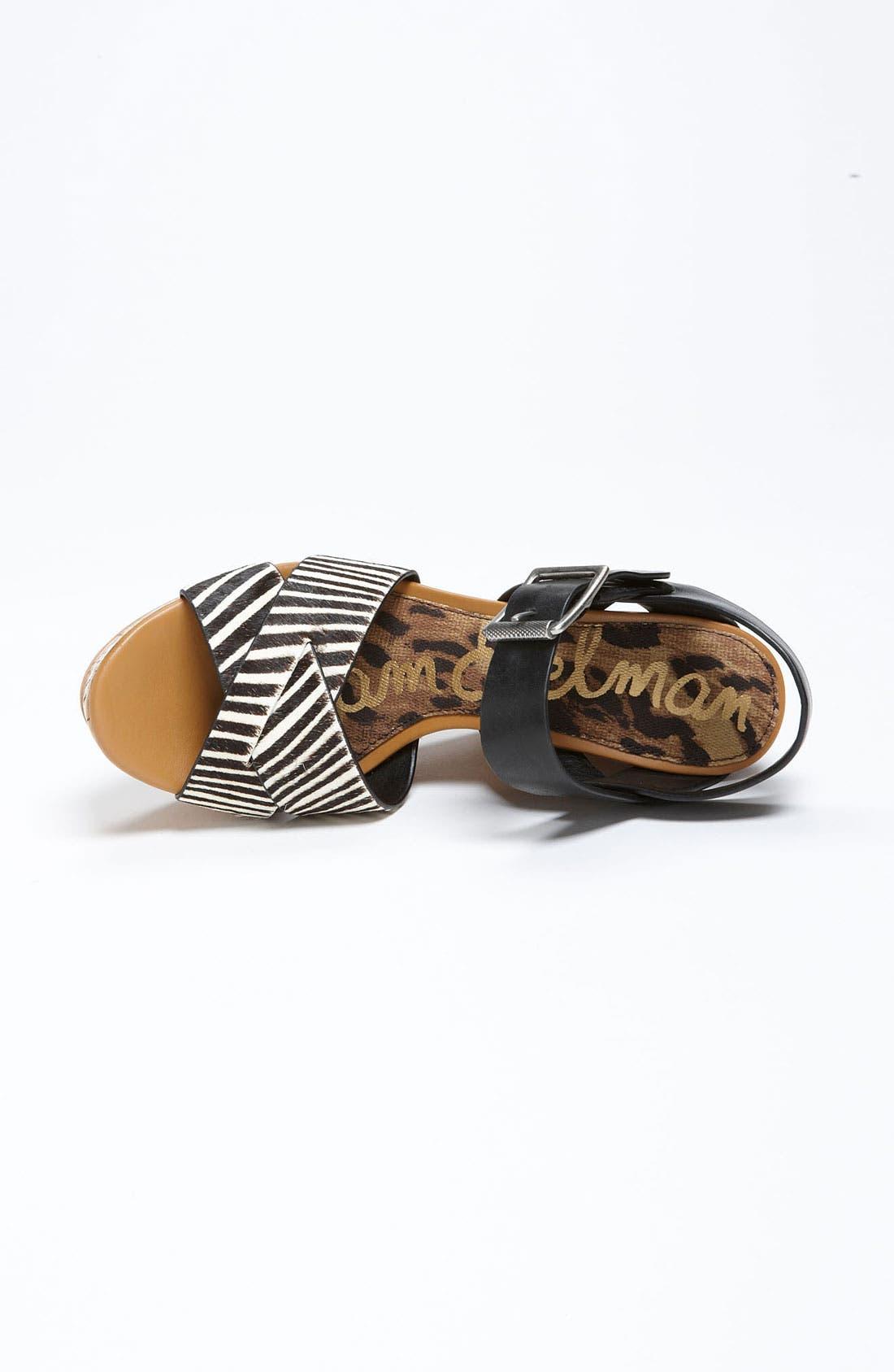Alternate Image 4  - Sam Edelman 'Sasha' Wedge Sandal