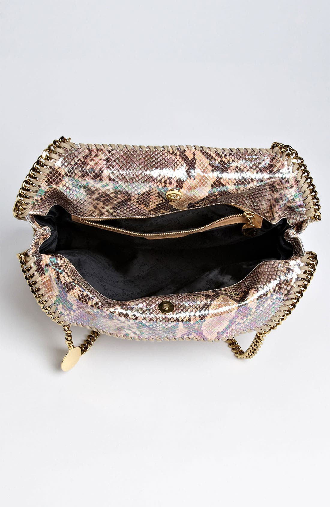 Alternate Image 3  - Stella McCartney 'Falabella - Small' Oleographic Faux Python Tote