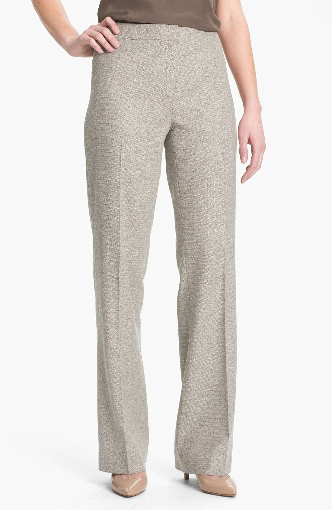 Alternate Image 1 Selected - Lafayette 148 New York Menswear Suiting Pants