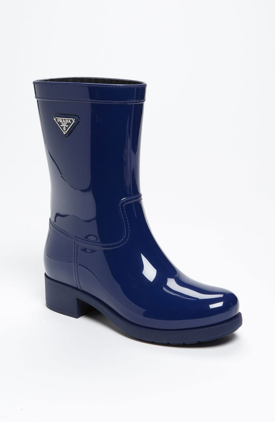 Alternate Image 1 Selected - Prada Rubber Rain Boot (Women)