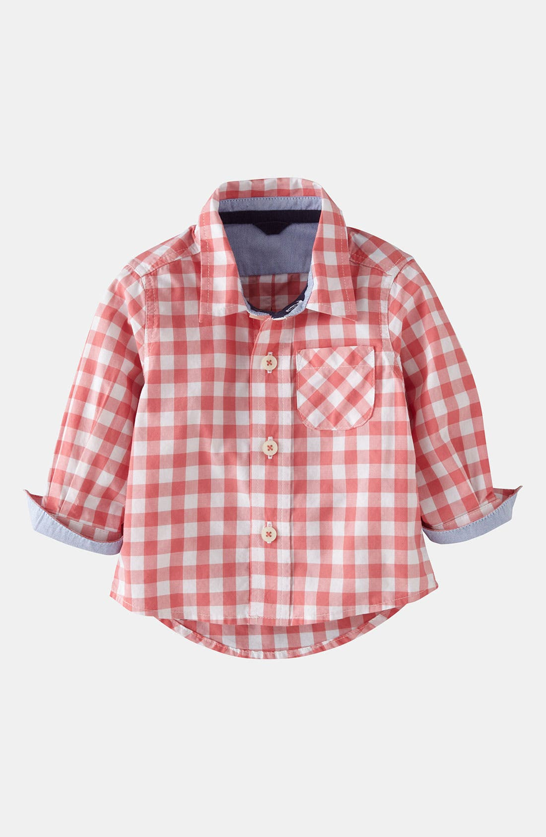 Alternate Image 1 Selected - Mini Boden 'Baby' Shirt (Baby)