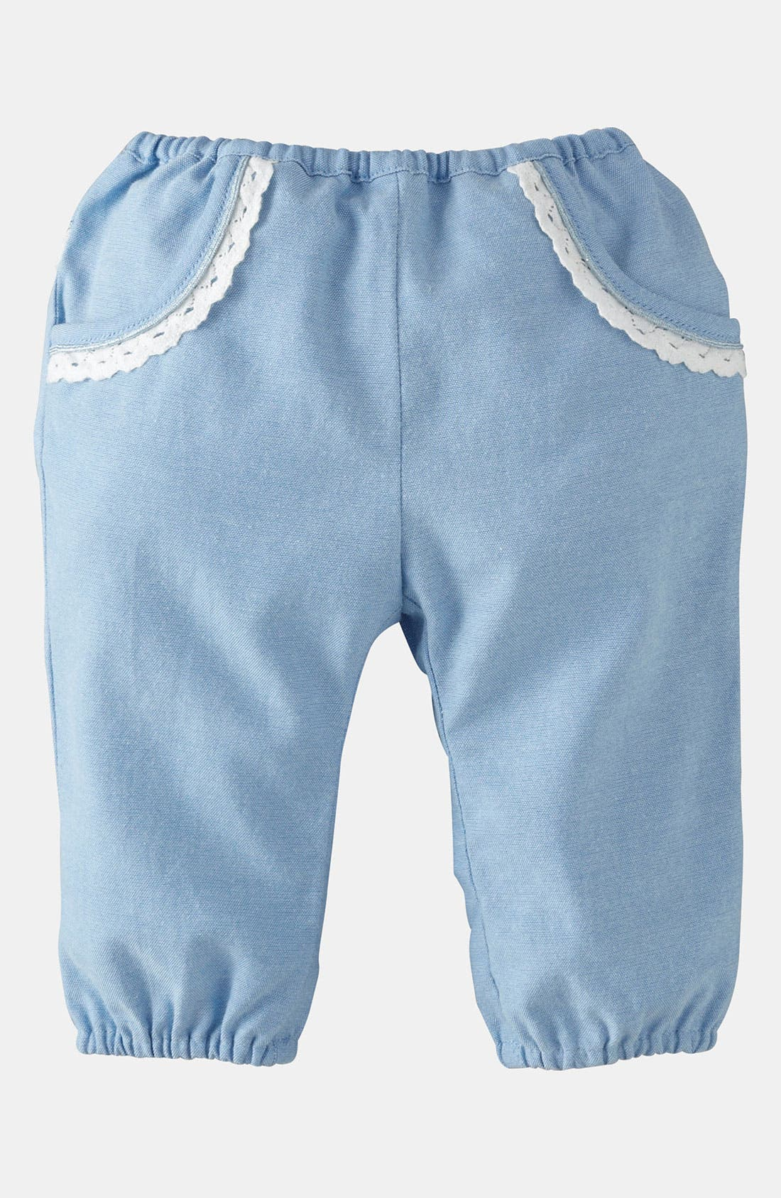 Main Image - Mini Boden 'Pretty' Pants (Baby)