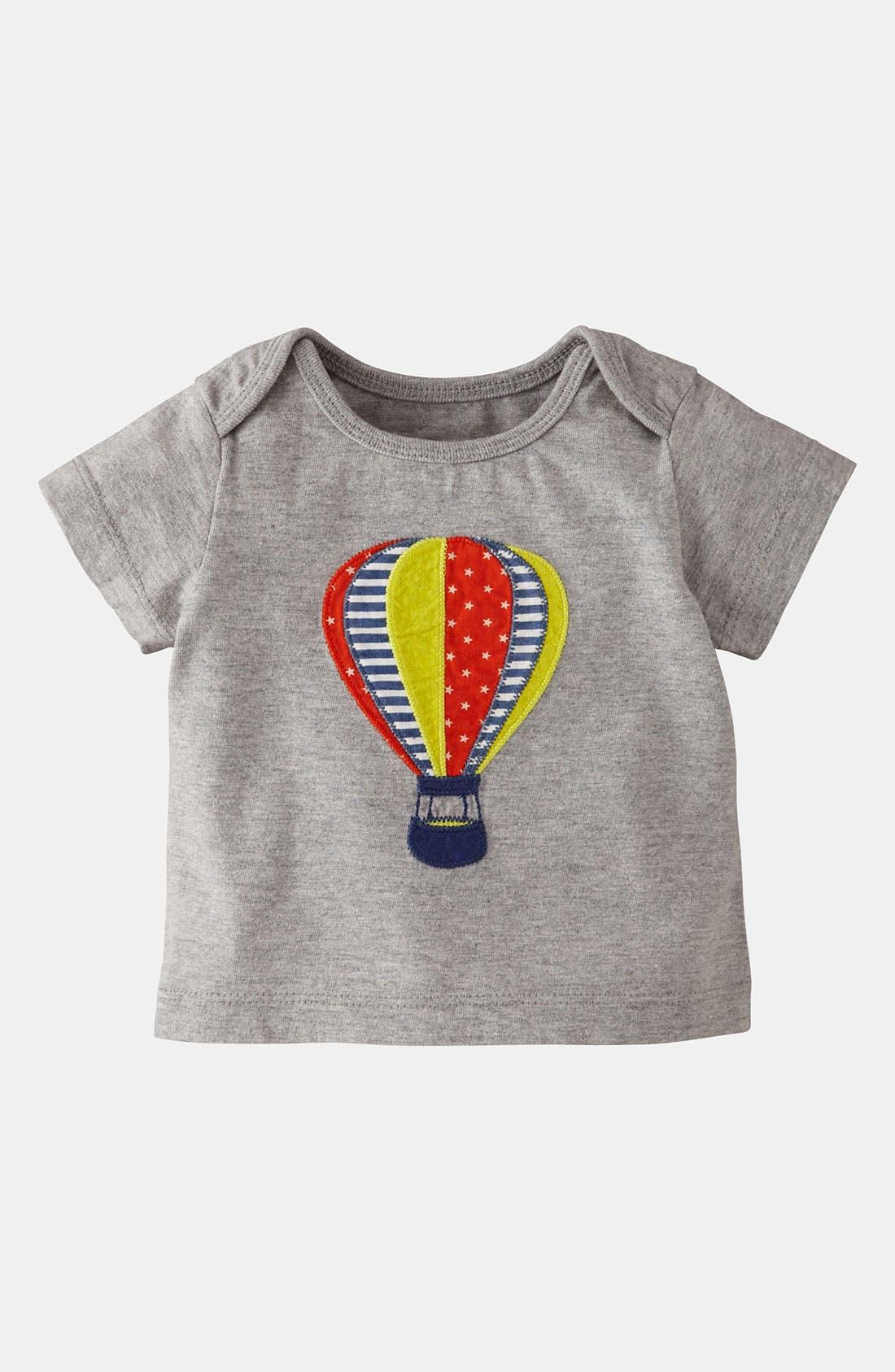Main Image - Mini Boden 'Vehicle Appliqué' T-Shirt (Baby)