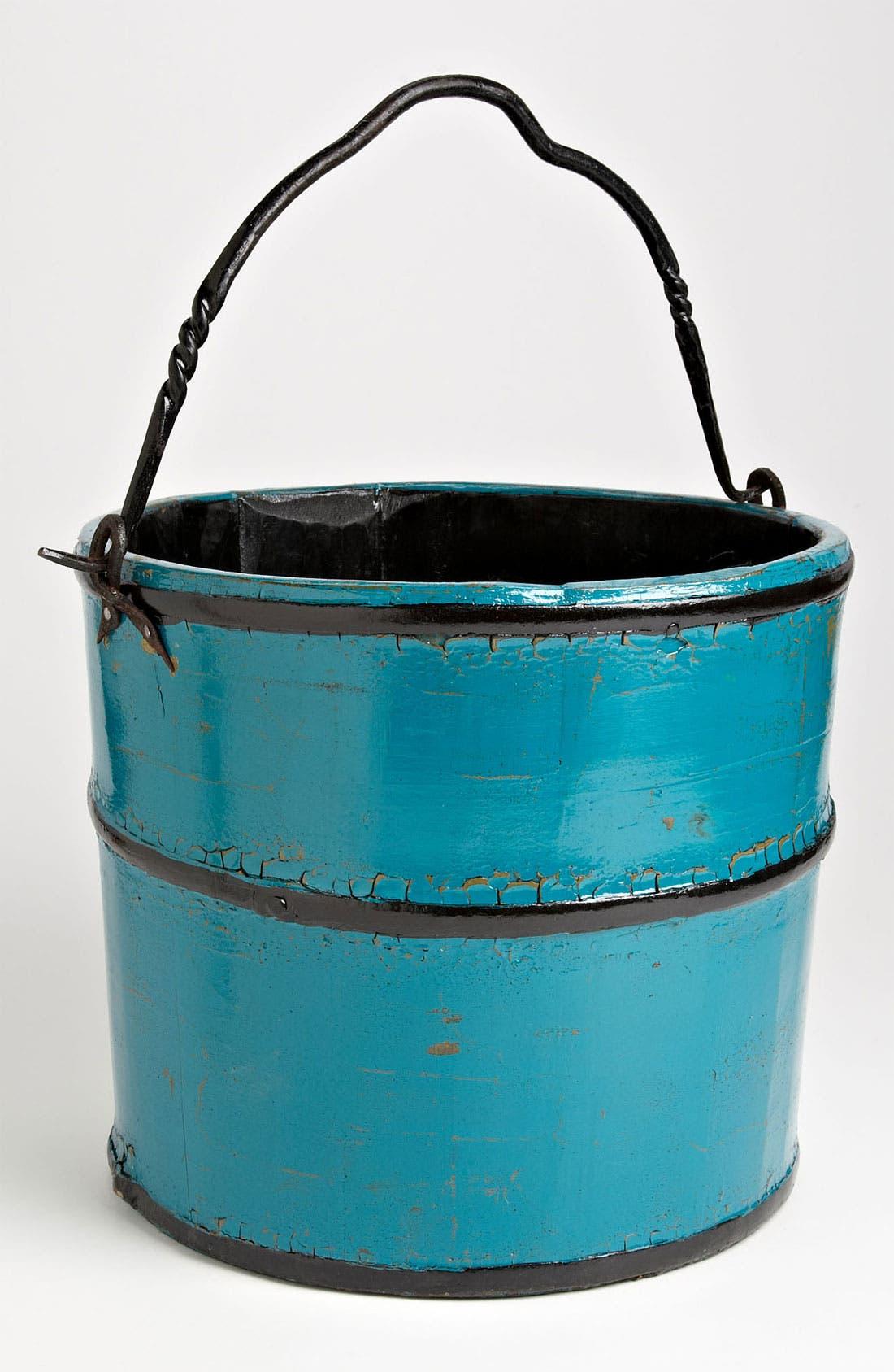 Main Image - Painted Wood Bucket, Large