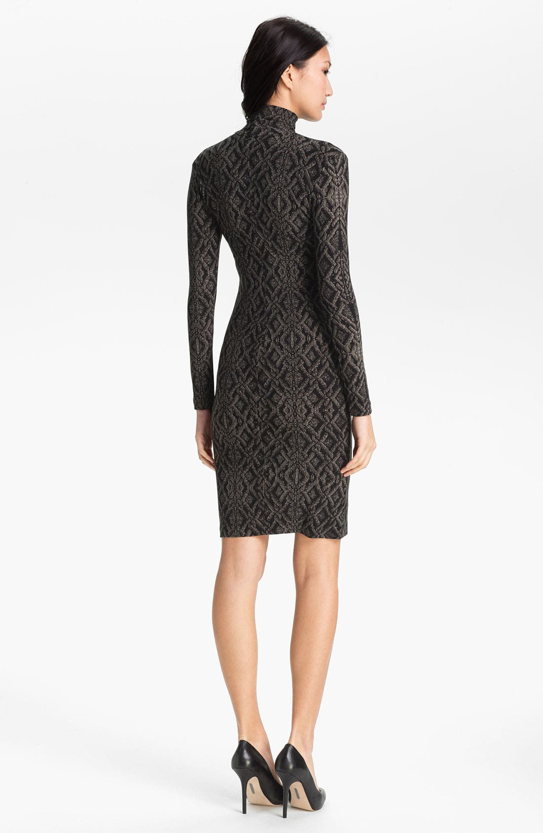 Alternate Image 2  - KAMALIKULTURE Contoured Turtleneck Dress