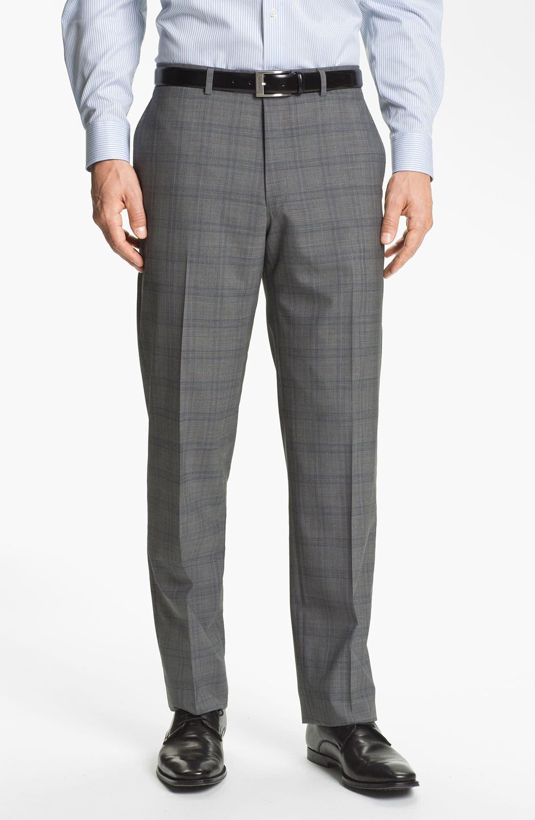 Alternate Image 4  - Hart Schaffner Marx Plaid Wool Suit