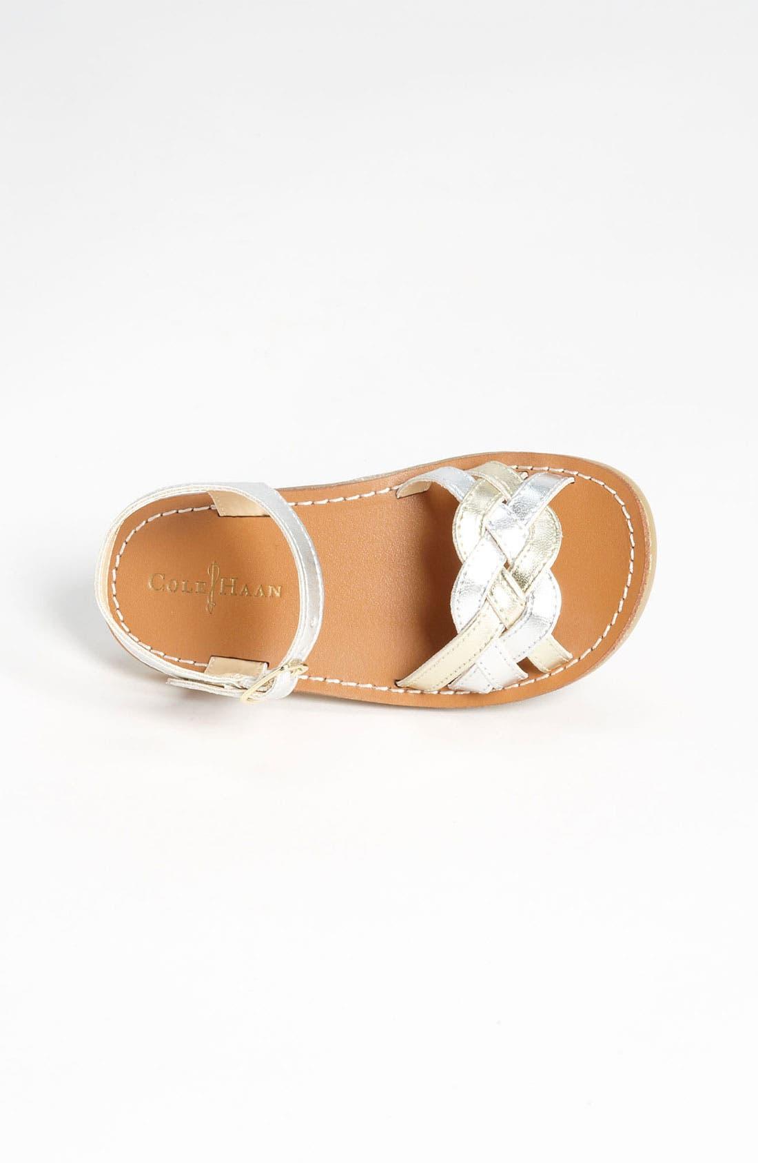 Alternate Image 3  - Cole Haan 'Apple Woven 2' Sandal (Walker & Toddler)