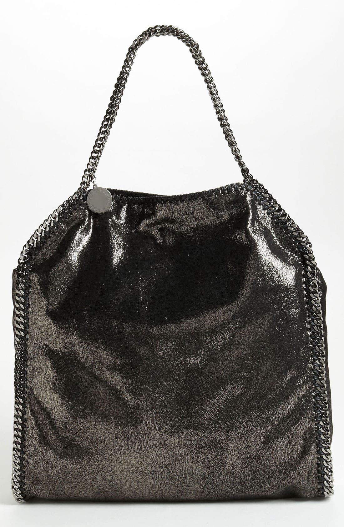 Main Image - Stella McCartney 'Falabella - Large' Metallic Tote