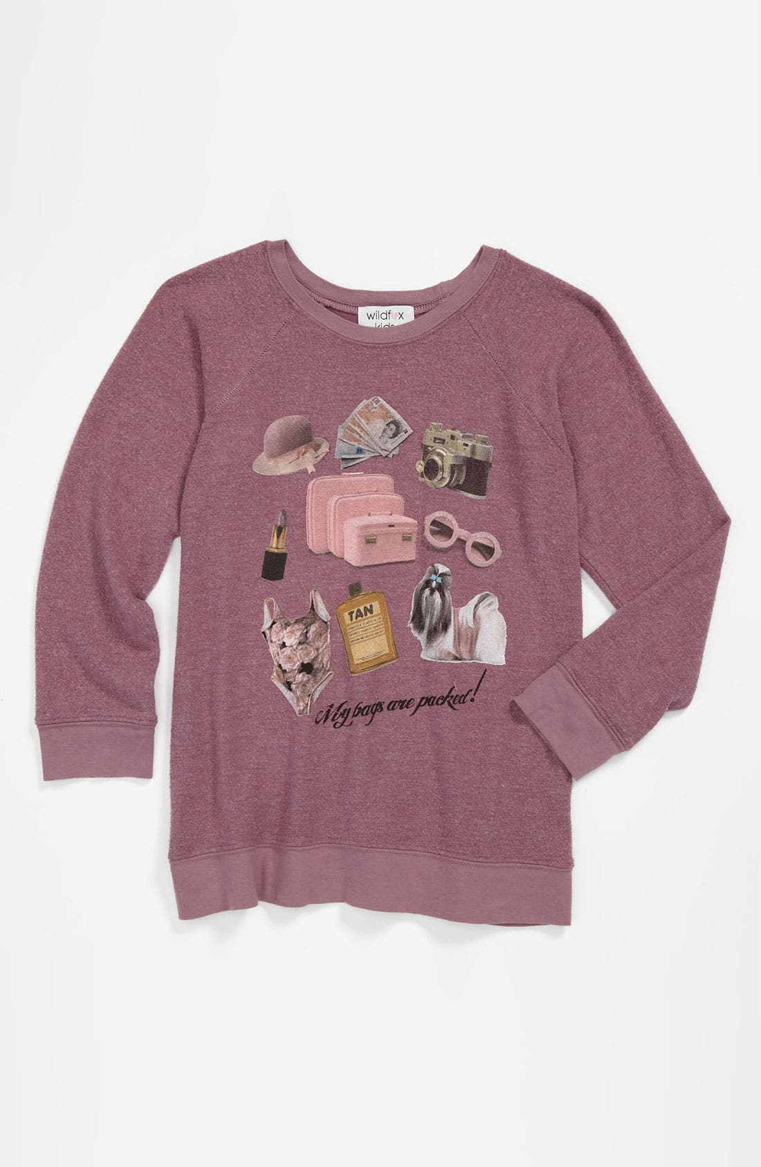 Alternate Image 1 Selected - Wildfox 'Granny' Pullover (Big Girls)