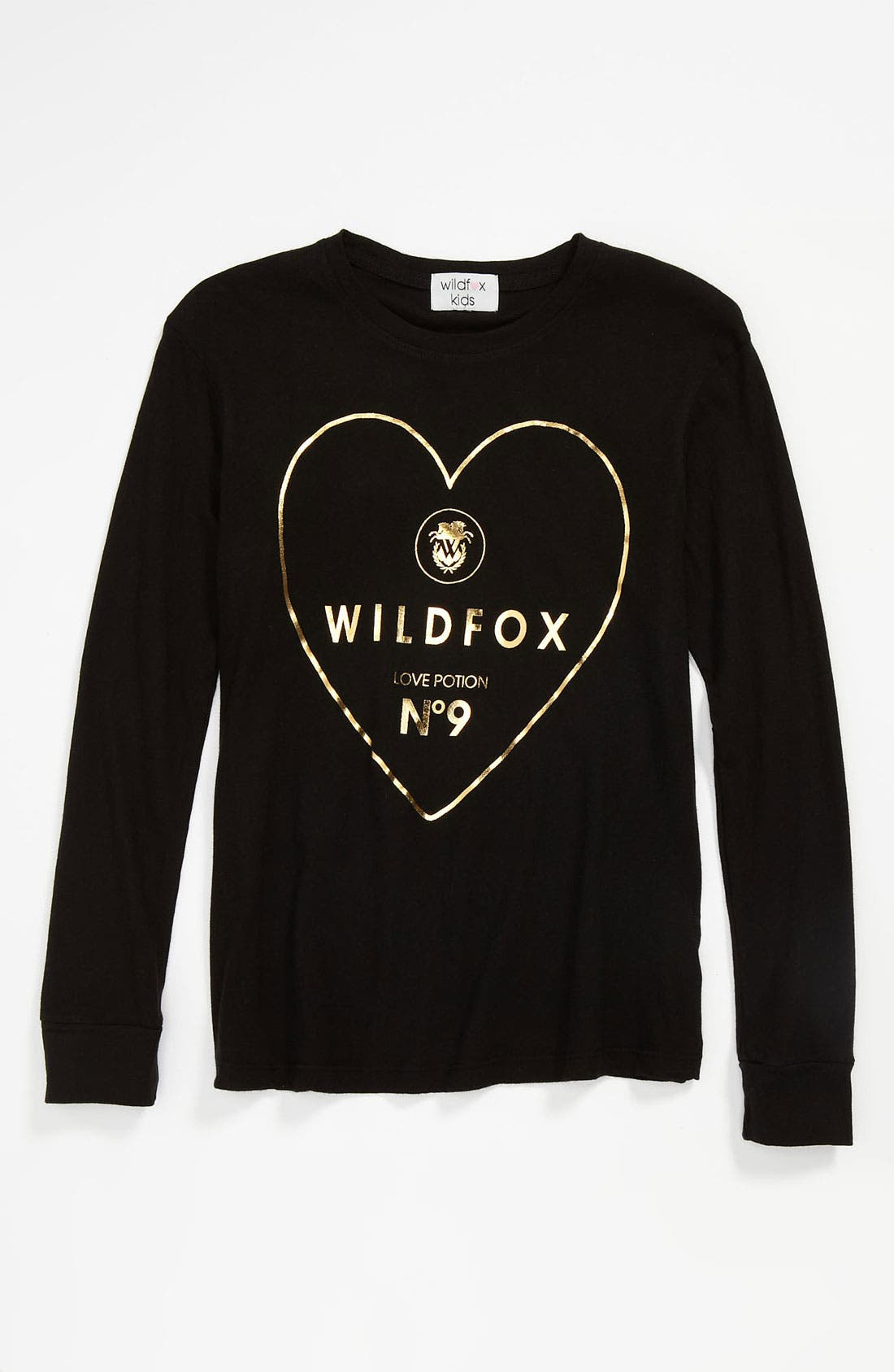 Alternate Image 1 Selected - Wildfox 'Logo' Tee (Big Girls)
